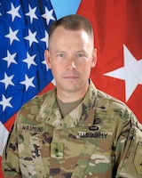 Brigadier General Todd R. Wasmund, 1st Infantry Division Deputy Commanding General for Support