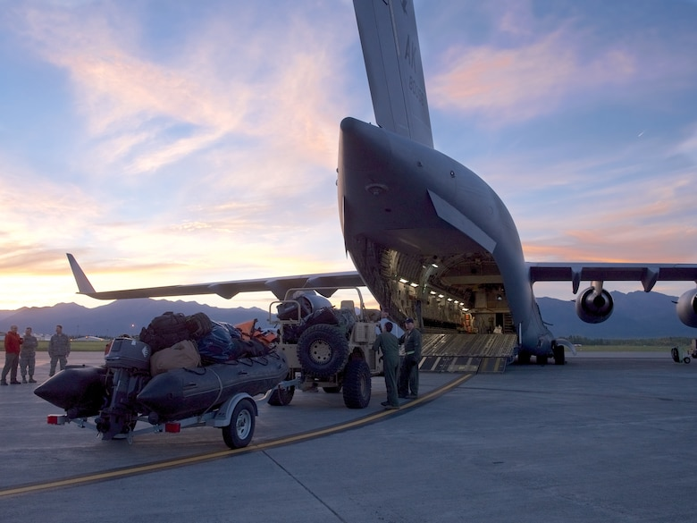 176th Wing Airmen respond to Hurricane Florence.