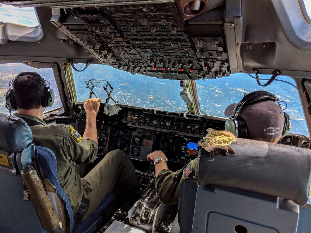 Alaska Guardsmen respond to Hurricane Florence.