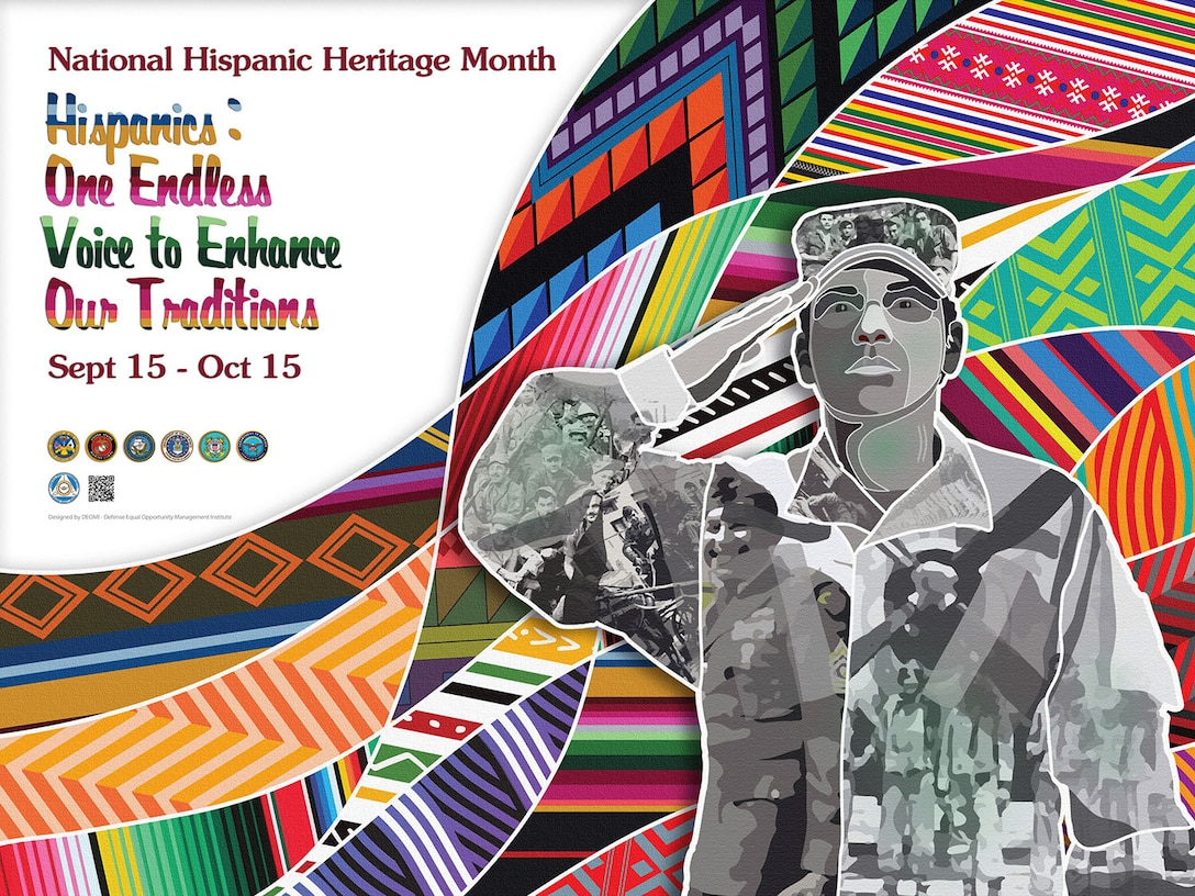 2018 National Hispanic Heritage Month poster