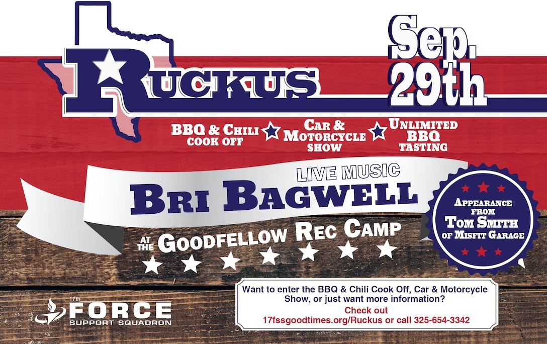 3rd Annual Ruckus at the Rec. Camp, 2018