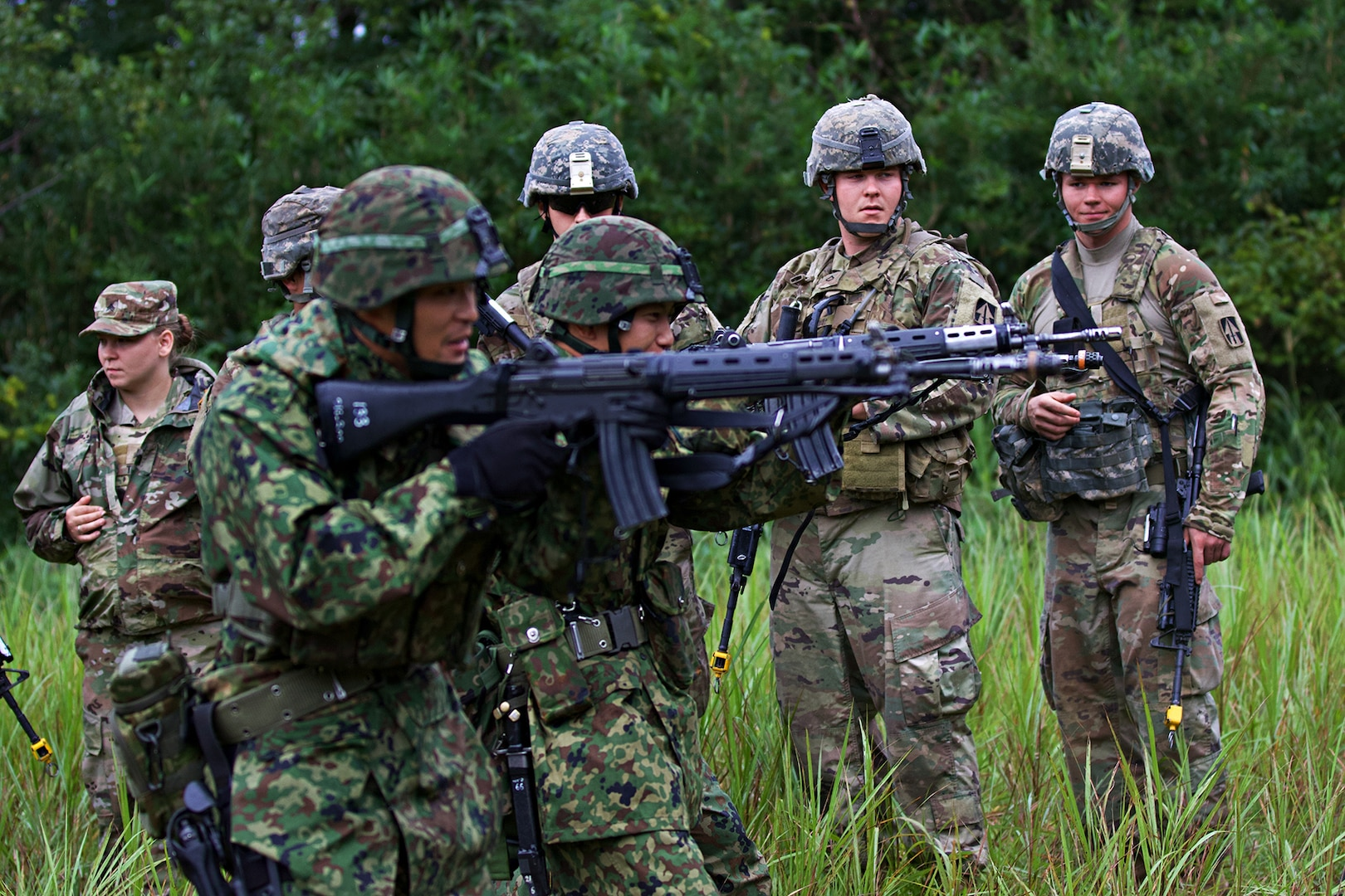 Japan and Indiana Guard forge alliance through live-fire exercises and disaster response