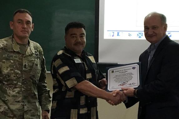 Customer Service Individual Award - August 2018.