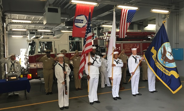 DDYJ leadership participates in Command Fleet Activity, Yokosuka 9/11 Remembrance Ceremony