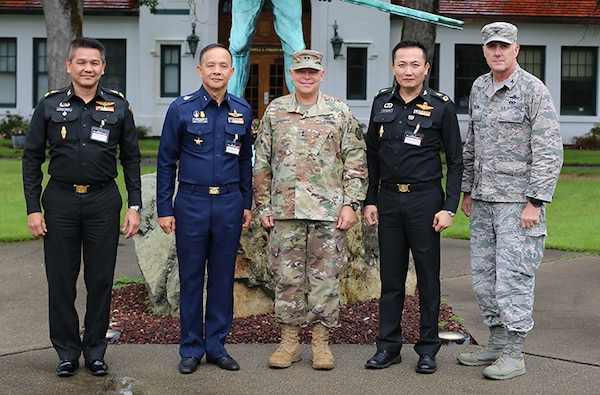 Royal Thai Armed Forces leaders visit Washington for SPP
