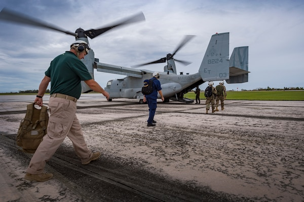 Wasp Expeditionary Strike Group Provides Air Support to CNMI Recovery Efforts