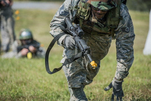 201st RED HORSE conduct field training exercise.