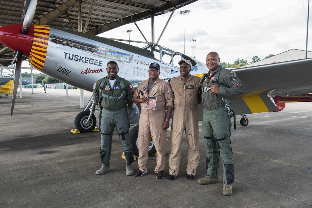 Red Tail Legacy Flight pilots