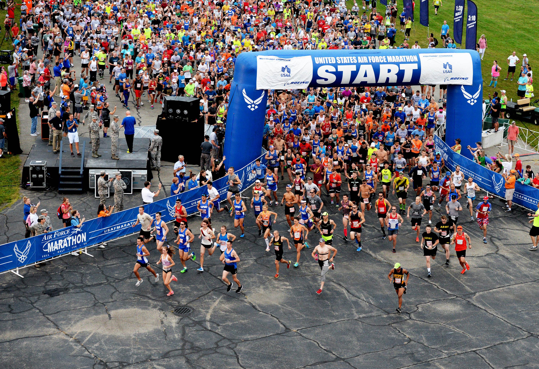22nd annual usaf marathon hosts international field u s air