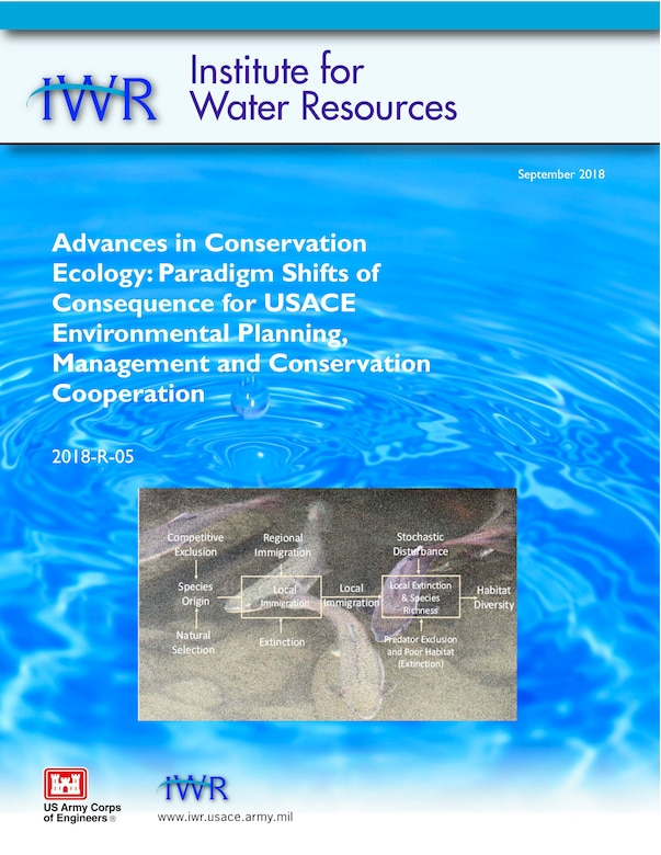 Advances in Conservation Ecology: Paradigm Shifts of Consequence of USACE Environmental Planning, Management and Conservation Cooperation
