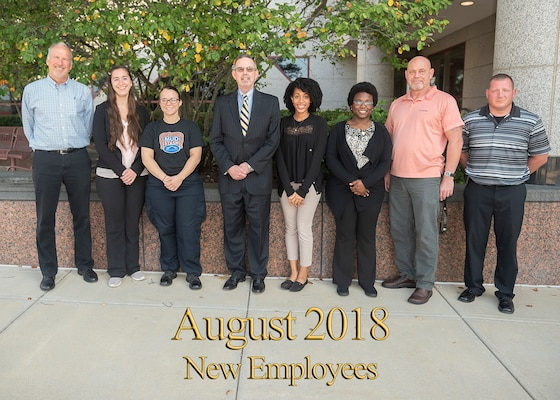 August 2018 New Employee Orientation Group Photo