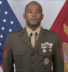 First Sergeant Robert E. Catching, First Sgt.  for Marine Security Forces Company, Guantanamo Bay Cuba.