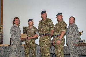 Outstanding Defender Award - Lance Corporal Adam Butler