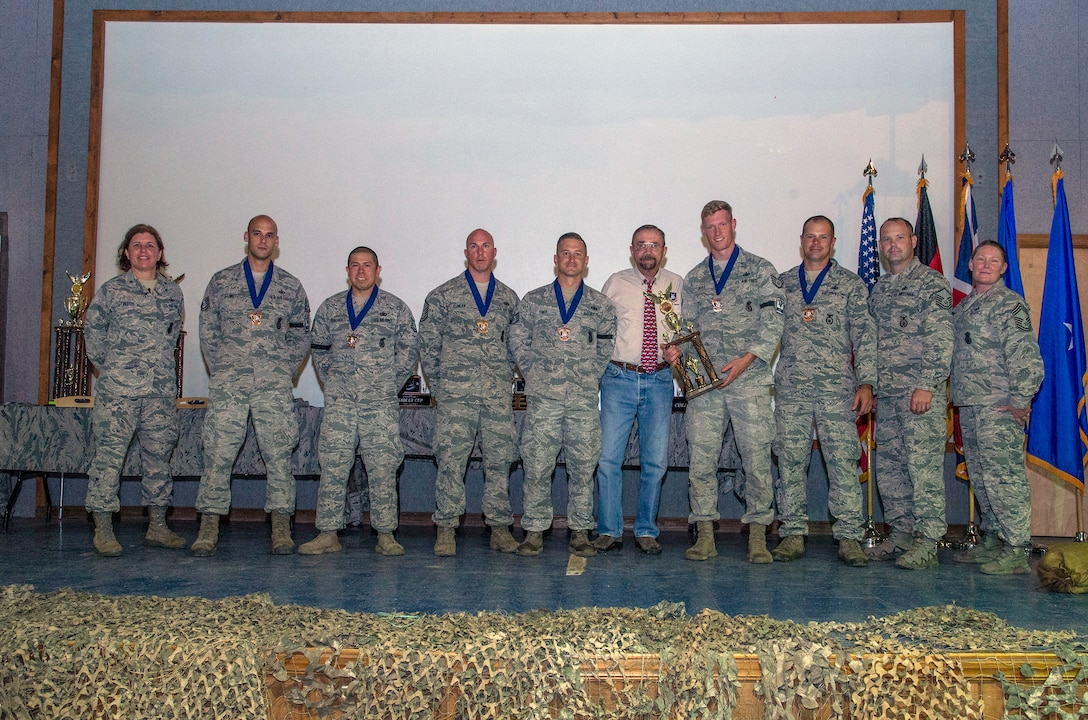 3rd Place Dismounted Operations Challenge Team Award - Air National Guard