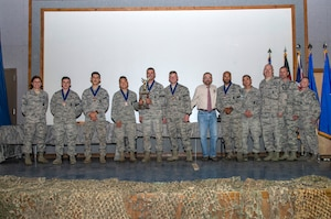 3rd Place Weapons Challenge Team Award - Air Force Space Command