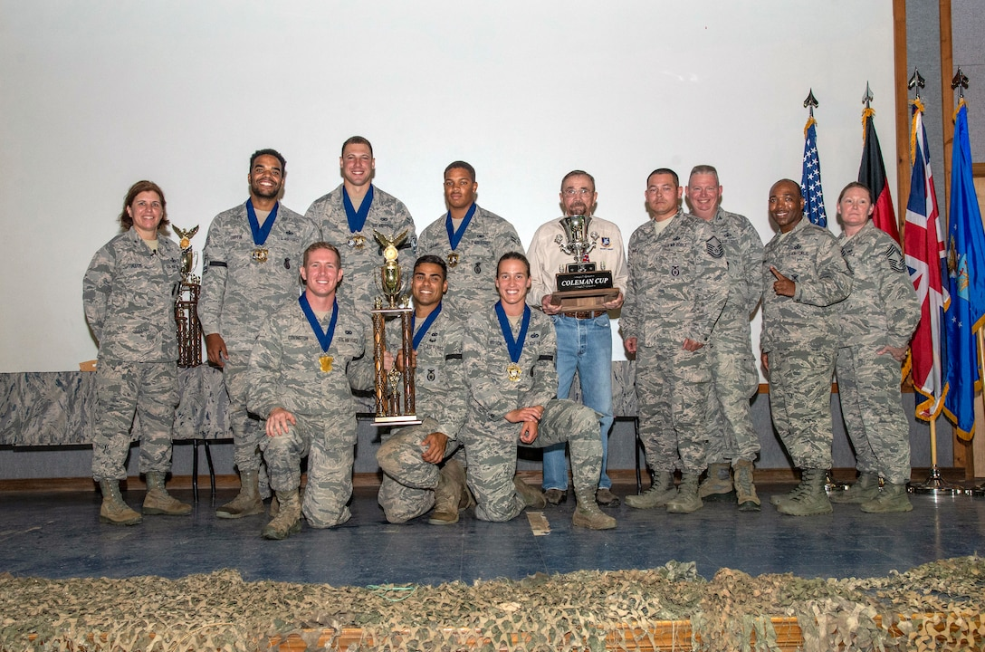 1st Place Weapons Challenge Team Award - Pacific Air Forces Command