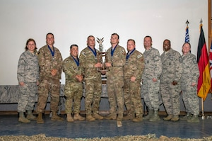 2nd Place Overall Team Award - Air Combat Command