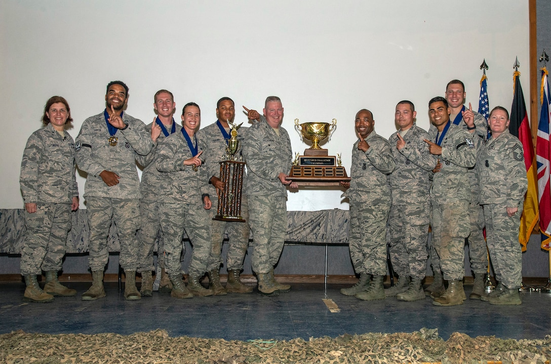 1st Place Overall Team Award - Pacific Air Forces Command