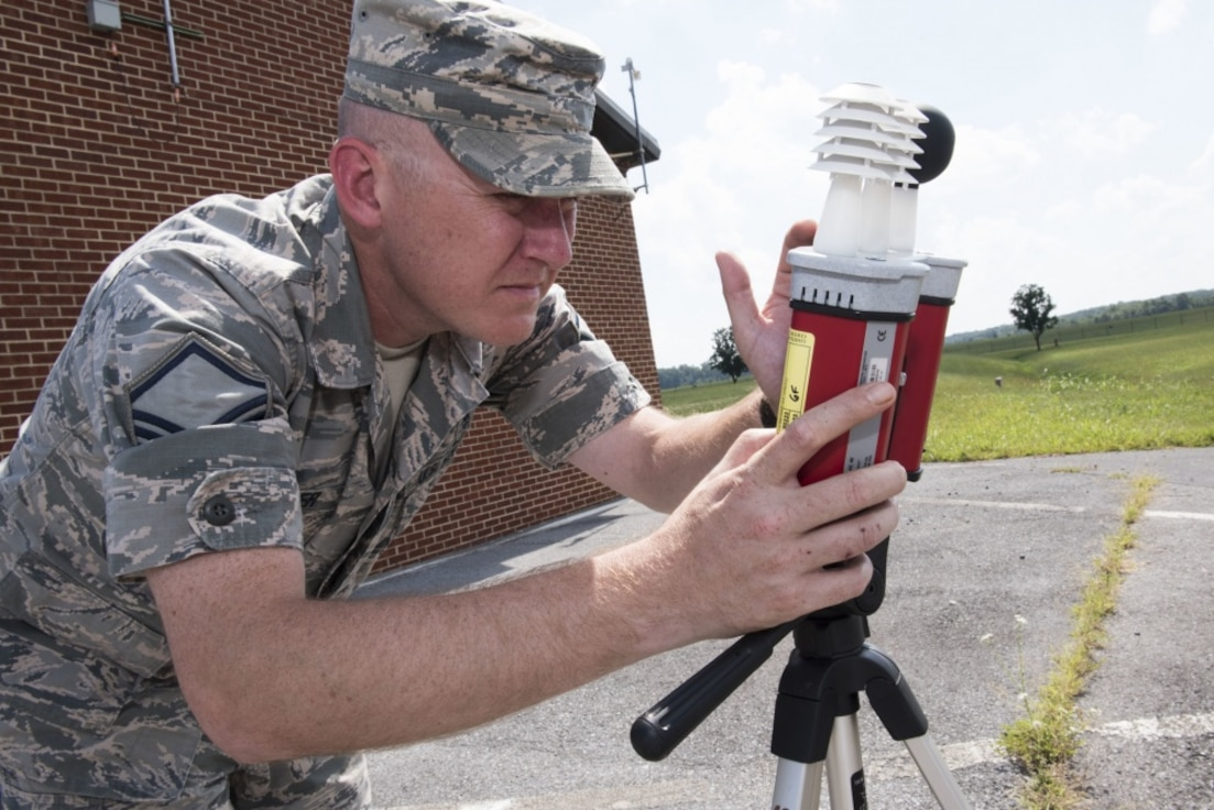Airman tests environmental quality