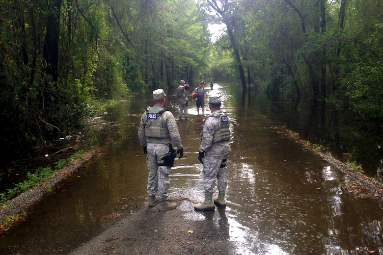South Carolina National Guard responds to Tropical Florence flood relief