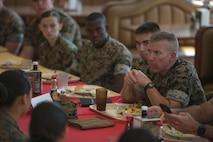 Lt. Gen. Smith visits MCAS Iwakuni