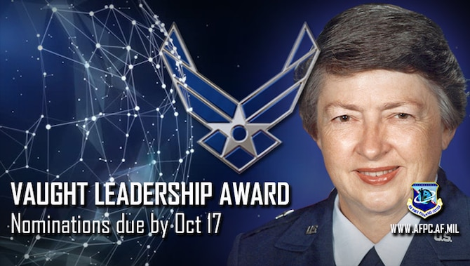 Vaught Leadership Award; Nominations due by Oct 17