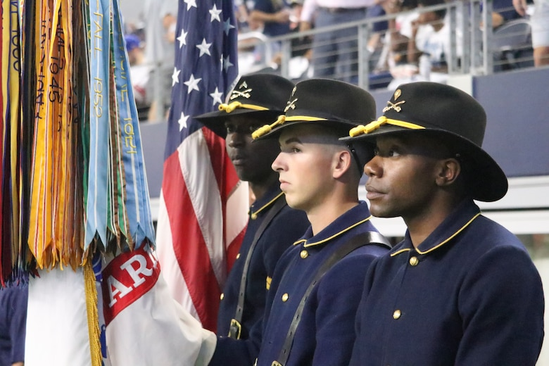 Nice Dallas, Cowboys honor local military members with 'salute to service  for sale