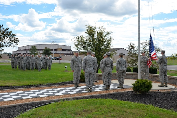 181st Intelligence Wing Retreat Ceremony