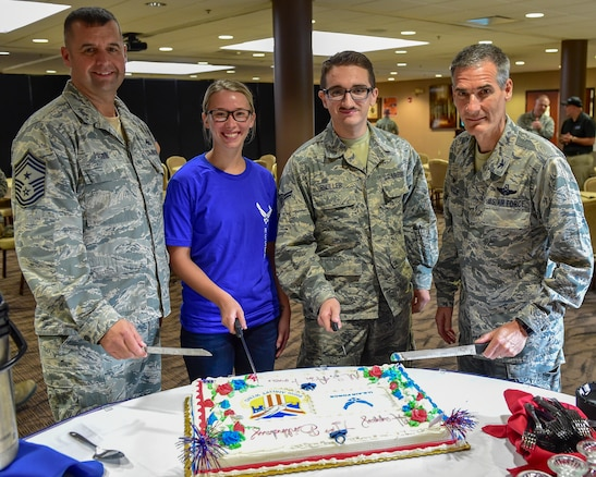 The 910th Airlift Wing celebrates the U.S. Air Force's 71st birthday on Sept. 18, 2018.