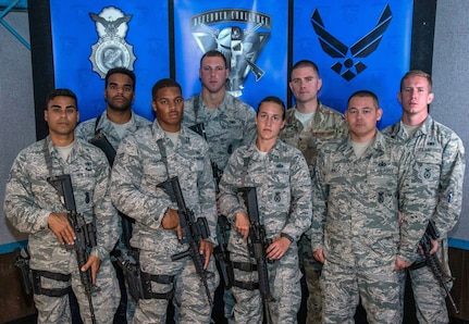 Pacific Air Forces (PACAF) Air Force Defender Challenge 2018 team