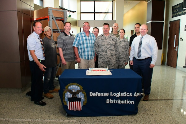 Distribution celebrates 71 years of the Air Force service