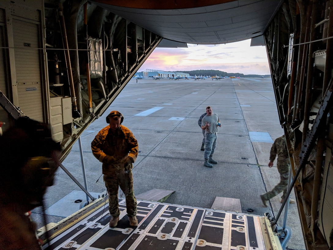 Guardsmen rescue 19 during relief efforts in Hurricane Florence