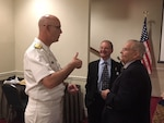 Distribution commanding officer speaks at local MOAA event