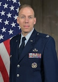 U.S. Air Force Col. Clark L. Allred poses for an official photo.