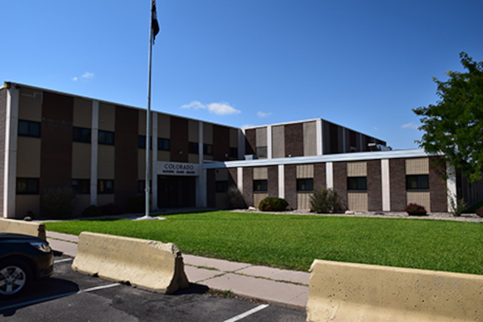 The Colorado Army National Guard armory in Pueblo, Colorado, June 18, 2015. The Adjutant General of Colorado and senior leaders of the Department of Military and Veterans Affairs and Colorado National Guard visit COARNG facilities annually to meet face-to-face with full-time unit members. (U.S. Army National Guard photo by Staff Sgt. Joseph K. VonNida/Released)