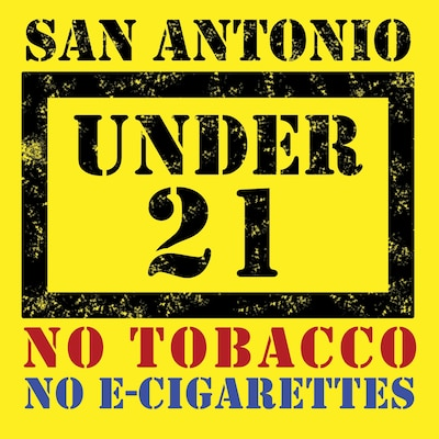 Effective Oct. 1, 2018, a new tobacco ordinance will prohibit the sale or providing of tobacco products to a person under 21 years of age within the boundaries of the City of San Antonio. For more information, visit https://www.sanantonio.gov/Tobacco21.