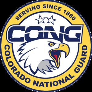 Official Logo of the Colorado National Guard.