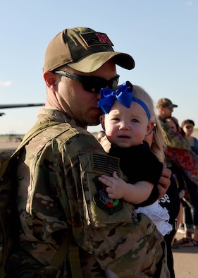 317th AW Airmen return home safely