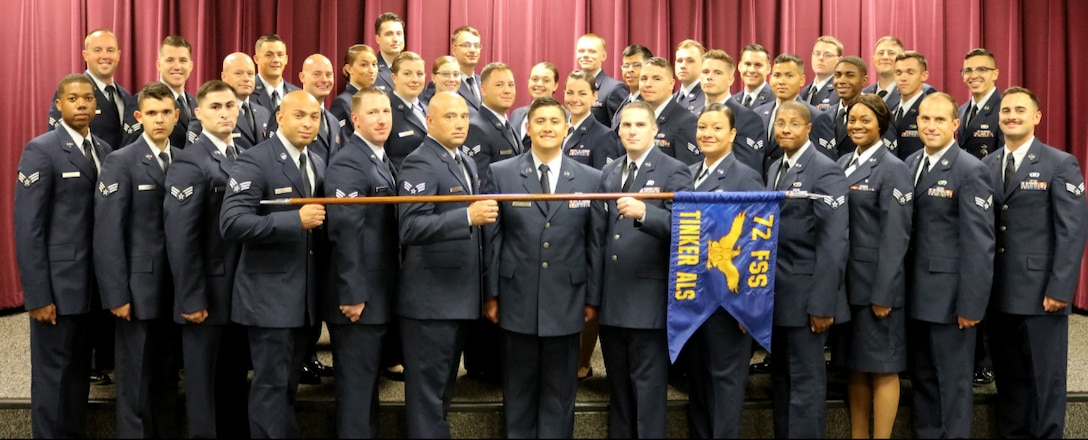 Thirty-eight Airmen graduated from Tinker's Airman Leadership School.