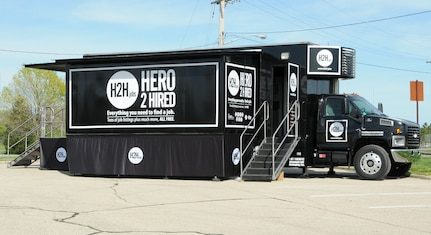 "The ""Hero 2 Hired"" Mobile Job Store will be at the Peterson Club parking lot from 10 a.m. to 4 p.m. Tuesday and Wednesday, Jan. 22-23, to assist Guard and Reserve service members gain meaningful employment. (U.S. Air Force photo by Tech. Sgt. Anthony G. Springer)"