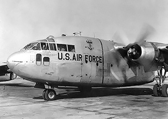 Reserve Citizen Airmen flew the unique-looking Fairchild C-119 Flying Boxcar, a twin-engine, twin-boom and twin-tail aircraft that perfectly suited the domestic humanitarian missions they would be called upon to execute.