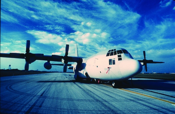 The EC-130H Compass Call, manned by Electronic Security Command personnel, flew during Operation Desert Storm.