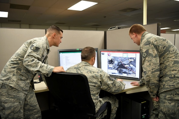 image of the 178th Wing IAA team working to provide flood relief support