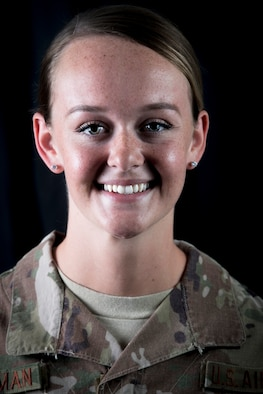 I wanted to serve - Airman Kathryn Eddleman