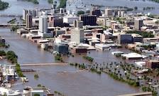 Downtown Cedar Rapids, June 2008