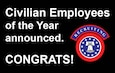 Civilian Employees of the year announced