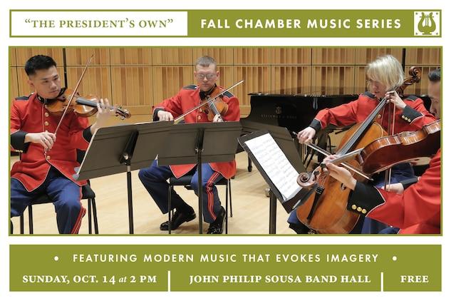 Fall Chamber Music Series: Sunday, Oct. 14