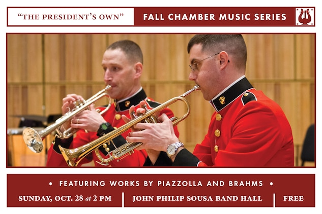 Fall Chamber Music Series: Sunday, Oct. 28