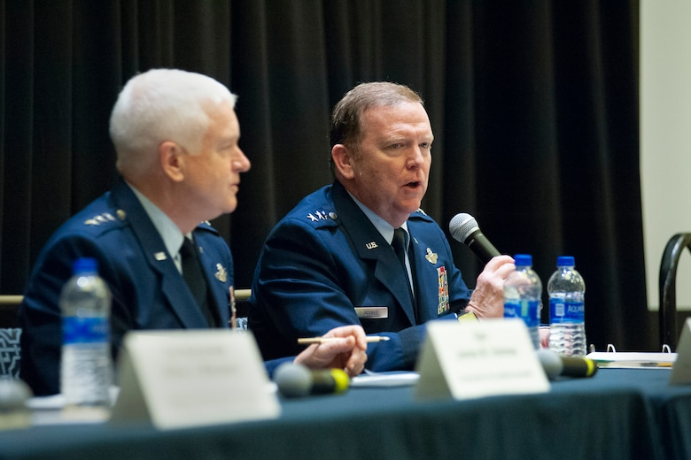 Lt. Gen. Scobee at AFA