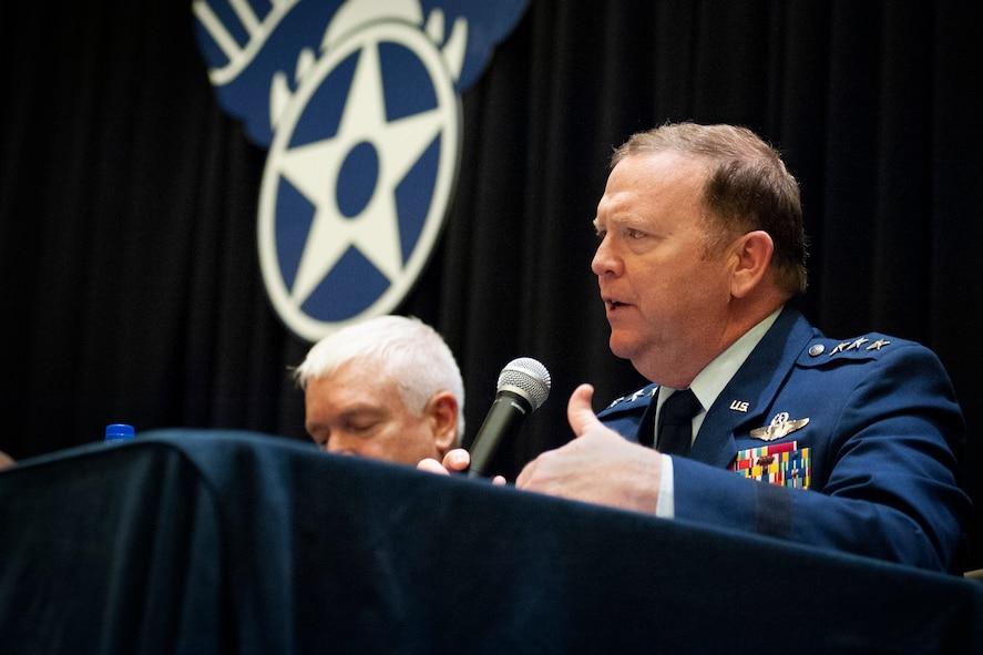 Lt. Gen. Scobee at AFA